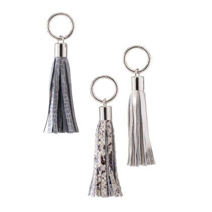 KEYCHAIN | Leather Tassel Keychain