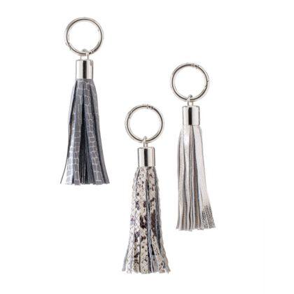 KEYCHAIN | Leather Tassel Keychain