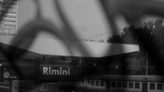 Rimini, the capital city on the Adriatic sea., and the hometown of Federico Fellini
