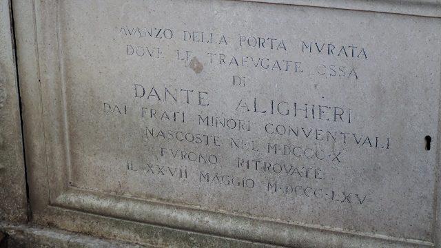 Dante tomb in Ravenna