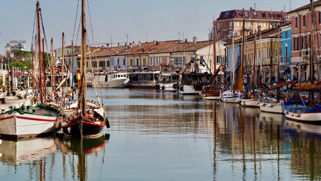 The port has been planned by Leonardo Da Vinci himself