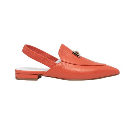 Pointy Toe Slingback Loafer mules - Handmade by Norman & Bella